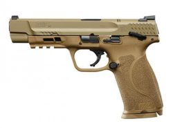 Smith & Wesson M&P 40 M2.0 FDE Thumb Safety, 15 Round Semi Auto Handgun, .40 S&W