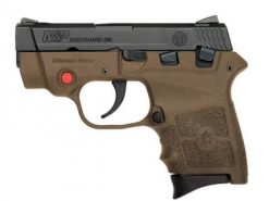 Smith & Wesson M&P Bodyguard 380 FDE Crimson Trace