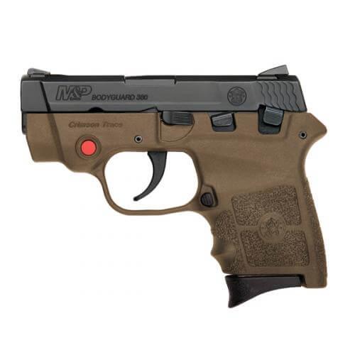 Smith & Wesson M&P Bodyguard 380 FDE Crimson Trace