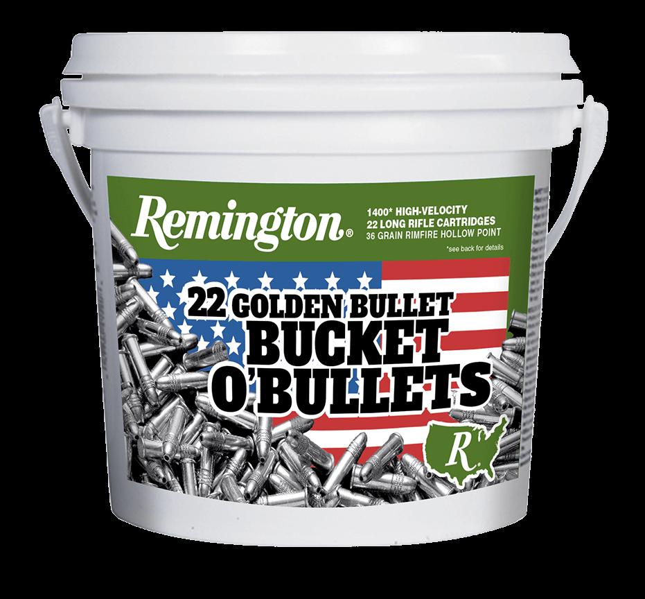 Remington 22LR Golden Bullet Bucket