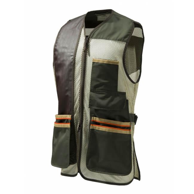 Beretta Mens Medium US Two Tone Shooting Vest Green