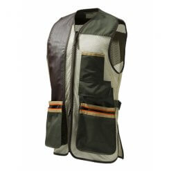 Beretta Mens Small US Two Tone Shooting Vest Green