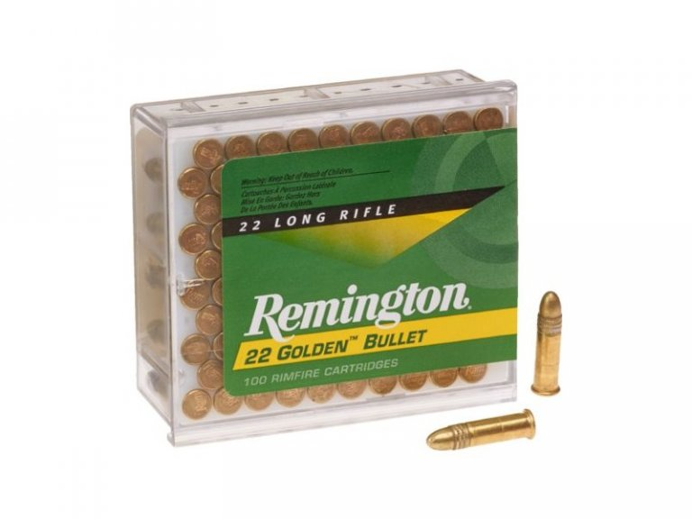 Remington Golden Bullet 22LR 100 round pack