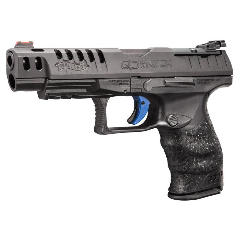 walther q5 match 15 round semi auto handgun 9mm shoot straight