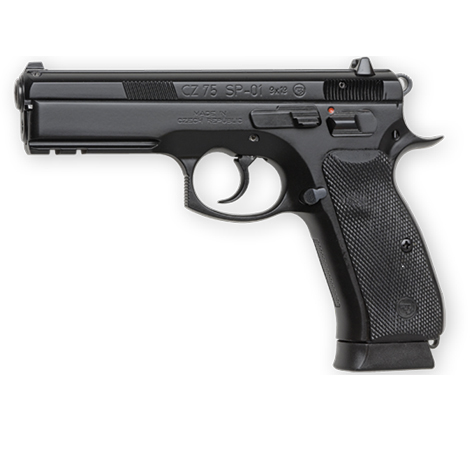 CZ 75 SP-01 9mm 18 rounds Semi Auto Pistol