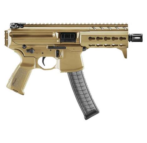 Sig Sauer MPX K FDE, 9mm, 4.5in Barrel