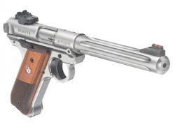 Ruger Mark IV Hunter 40118, Fluted, Stainless Steel, .22LR
