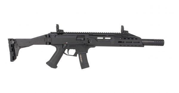 CZ Scorpion EVO 3 S1 9MM Carbine Black w/ Faux Suppressor