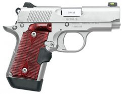 Kimber Micro 9 Stainless Rosewood Crimson Trace Lasergrips