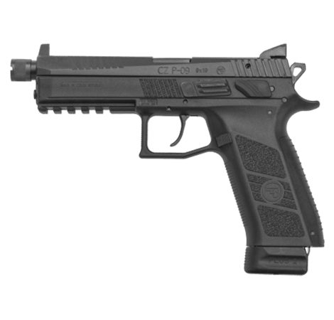CZ P-09 Suppressor-Ready