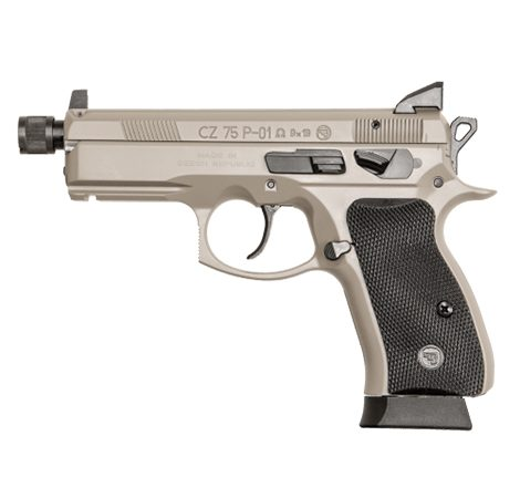 CZ 75B Ω Urban Grey Suppressor-Ready Semi Auto Handgun 9mm