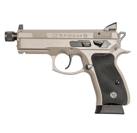 CZ 75B Ω Urban Grey Suppressor-Ready Semi Auto Handgun 9mm