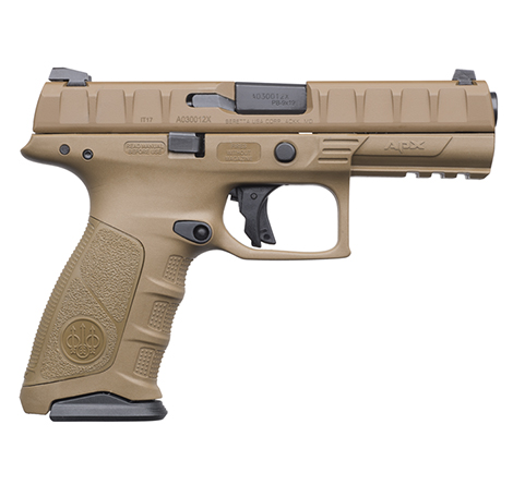 Beretta APX 9MM FDE 2-17RD