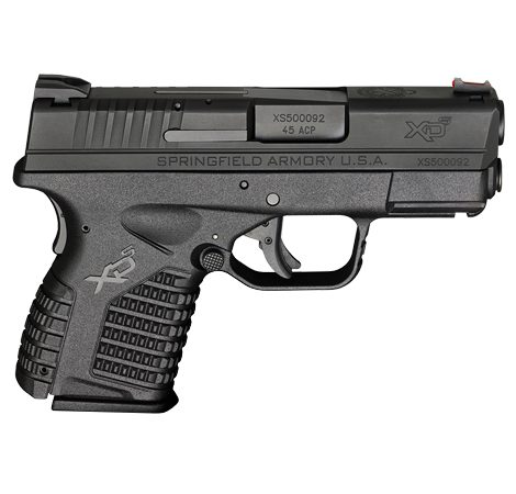"Springfield XD-S 3.3"", Single Stack .45ACP"