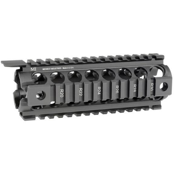 Midwest Industries MCTAR-17G2, Two Piece Drop-in Handguard for Carbine length AR-15 platforms