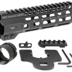 Midwest Industries MCTAR, Combat Rail One Piece Free Float Handguard, M-LOK