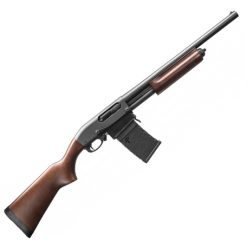 "Remington 870 DM Hardwood 81351 12-Gauge Pump Shotgun 18.5"" Barrel"