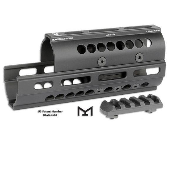 Midwest Industries MI-AK-M, AK47/AK74 Universal Two Piece Handguards M-LOK