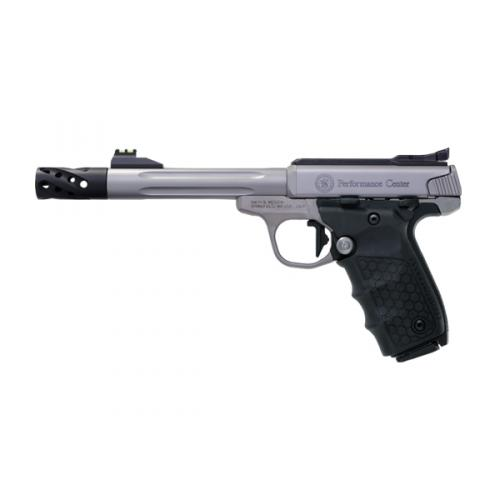 """Smith & Wesson SW22 Victory 12078 Performance Center, 6"""" Stainless Fluted Barrel"""