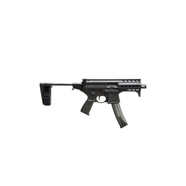 Sig Sauer MPX K w/ PSB, 4.5in Barrel, 9MM, Semi Auto Handgun