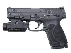 Smith & Wesson M&P 9 M2.0 Compact, Thumb Safety w/ Crimson Trace Tactical Light, 9mm