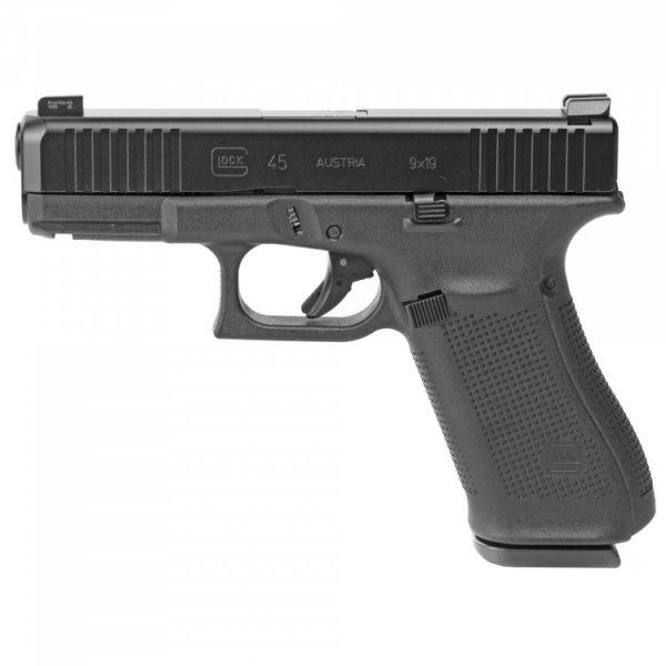 Glock 45 Ameriglo Night Sights, 17 Semi Auto Handgun, 9mm
