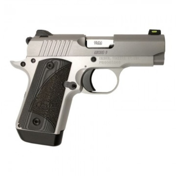 Kimber Micro 9 Stainless Fiber Optic, G10 Grips