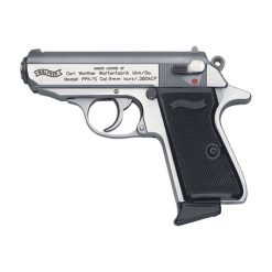 Walther PPK/S .380 ACP 7 Round Stainless Semi Auto Handgun