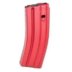 DuraMag Speed AR 5.56/.223 Aluminum, 30RD Mag, Red