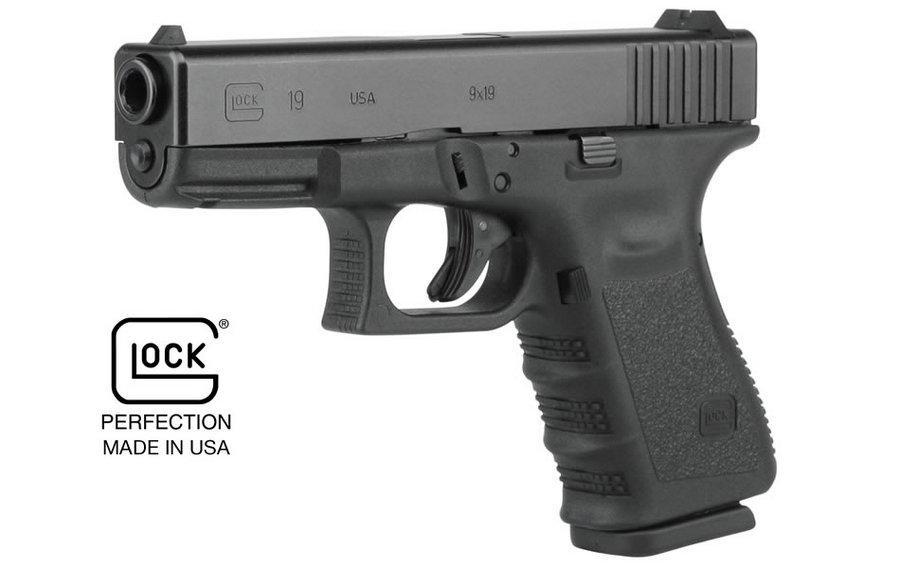 Glock 19 Compact Pistol PI1950203