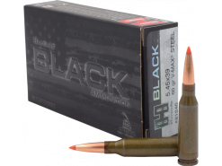 HORNADY BLACK 5.45X39MM AMMO 60 GRAIN V-MAX STEEL CASE