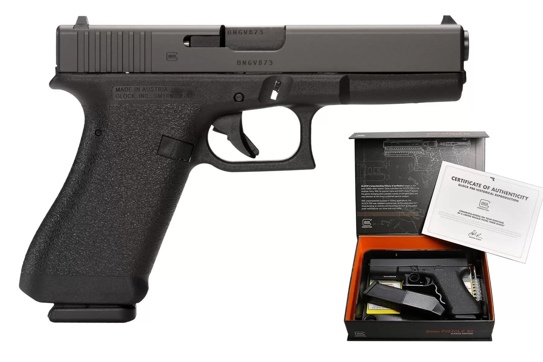 Glock P80 Gen 1 9mm Pistol P81750203
