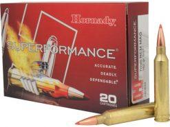 Hornady 7mm Rem Mag 162 gr SST® Superformance®
