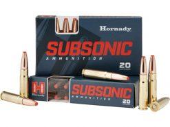 Hornady 300 Blackout 190 gr Sub-x Subsonic 80877