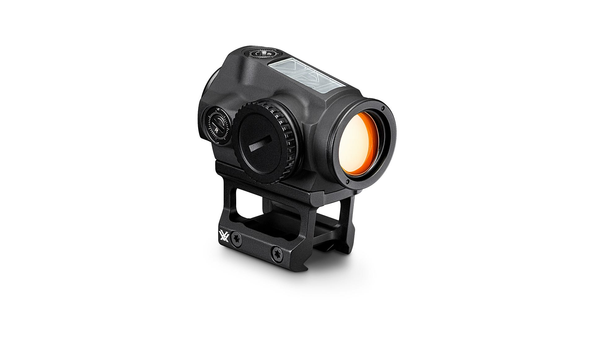 The VORTEX Sparc Solar Red Dot SPC-404 harnesses the power of the sun for up to 150,000 hours of battery life. Auto D-TEC technology