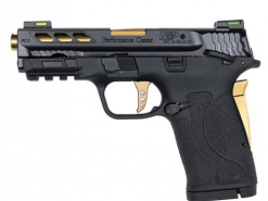Smith & Wesson M&P Shield EZ 12719 GOLD Ported Barrel 380 8RD