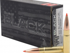 HORNADY BLACK AMMUNITION