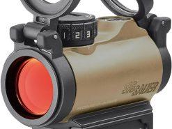 Sig Sauer ROMEO MSR FDE Red Dot 1x20mm Compact Red Dot Sight